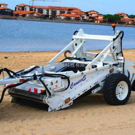 沙滩清洁车 沙滩垃圾处理机 沙滩垃圾清理机器 沙滩清洁机