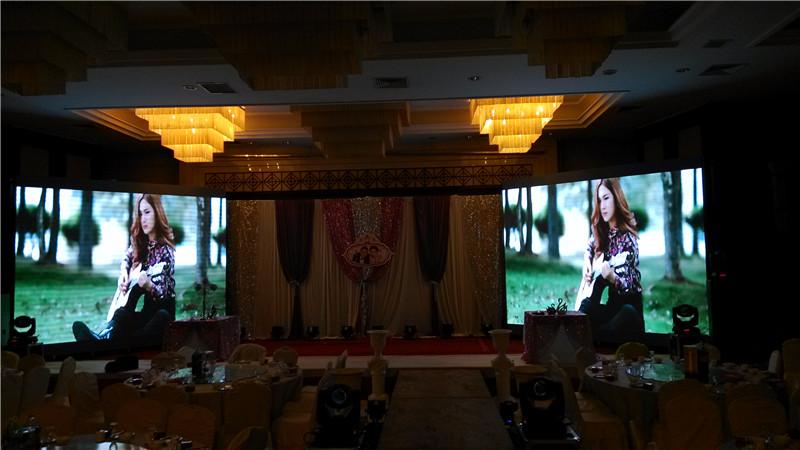 室内装一块6*3米LED大屏幕要多少钱用P3全彩屏的话