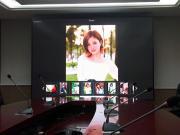 LED大屏拍照没有水波纹高刷P3全彩显示屏多少钱一平