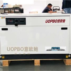 380V三相15kw静音水冷汽油发电机