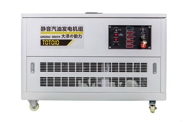 12千瓦静音220v汽油发电机接线图
