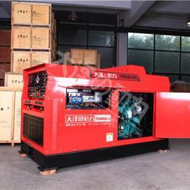 380V四缸400A静音柴油发电电焊机规格频率