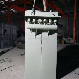 厂家定制24袋单机除尘器小型脉冲布袋除尘器