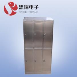 GMP制药厂304不锈钢更衣柜