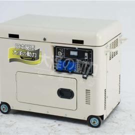 车载静音款8kw风冷柴油发电机今日价格