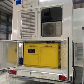 涡轮增压发动机25kw静音柴油发电机组