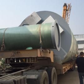 浙江重庆地区户外型一体化预制泵站材料