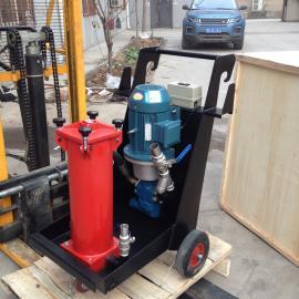 TUC40*5台式滤油机滤油小车