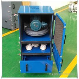 厂家直销 防爆型抛光除尘器 砂轮粉尘吸尘器 柜式集尘机