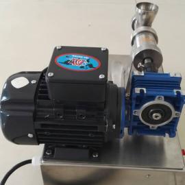 实验小型螺杆式催化剂挤条机挤条机实验室设计订制