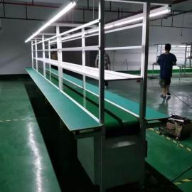 装配线厂家 双边皮带流水线 电子厂生产线 多工能总装流水线