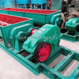 铸石板粉尘加湿机型号 SJ-40型卧式双轴搅拌机 密封性能好