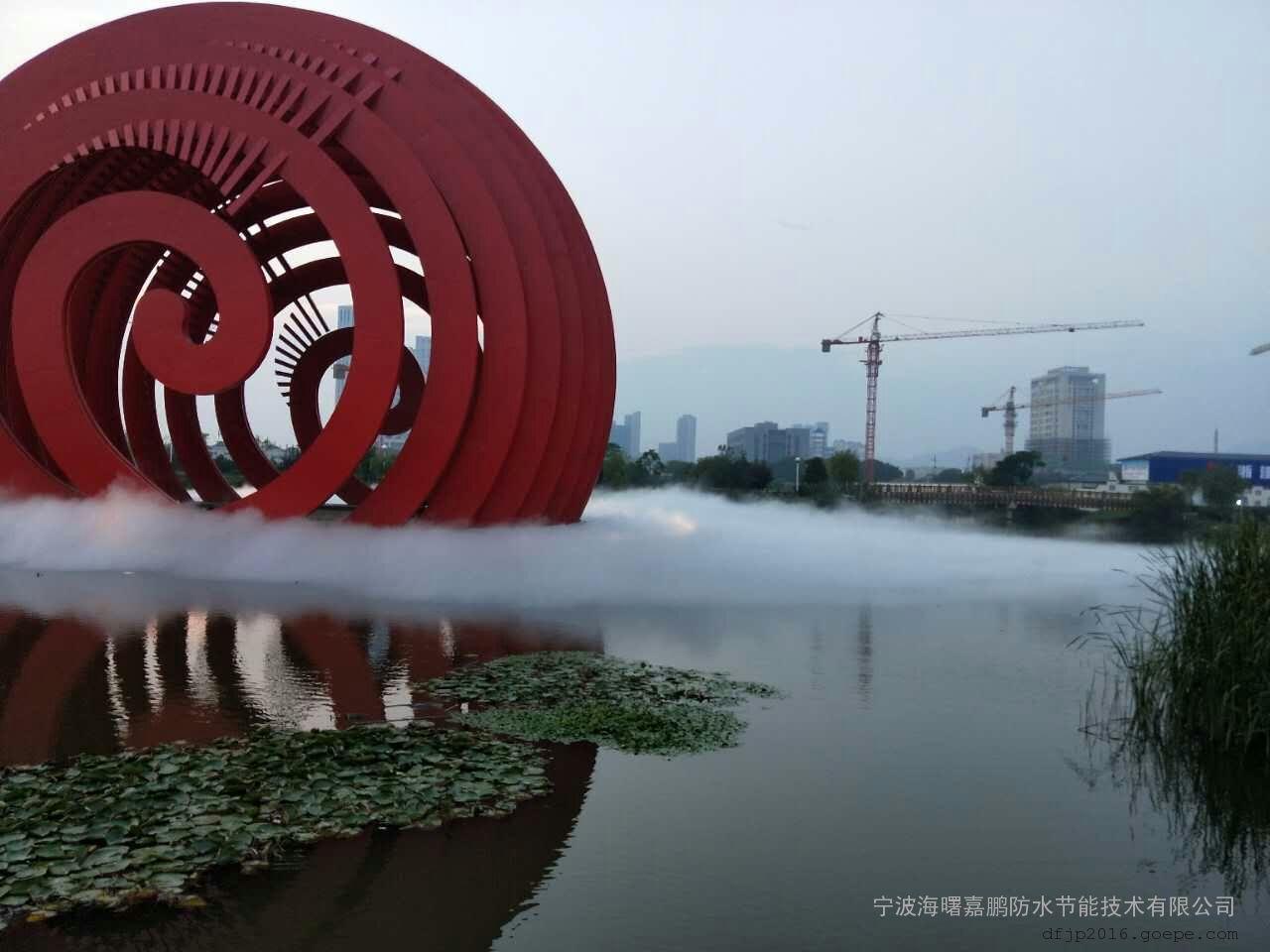 绍兴喷雾景观工程-静音景观造雾设备-景区园林工程造价