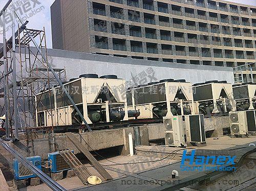 热泵机组降噪_热泵噪音治理 商场热泵机组降噪 价格