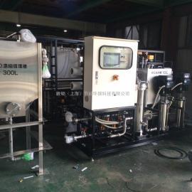 金属压铸机床脱模剂废液处理排放