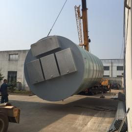 黑龙江玻璃钢预制污水泵站井供应商