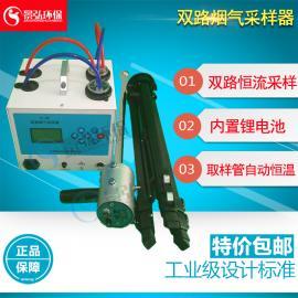 供应电厂烟气采样器智能双路烟气采样仪