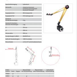 德国HG磁性三维表架/表座 107101 三脚架 优势报价 常用型号