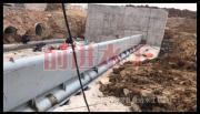 液压旋转钢坝的制作方法