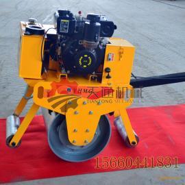手扶式重型单轮压路机进口动力手推压路碾生产厂家品质保障