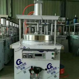 创业设备气动环保烙饼机 春饼机自动控温春卷皮机 多功能烙饼机