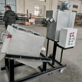 叠螺式污泥脱水机在印染污泥中的应用