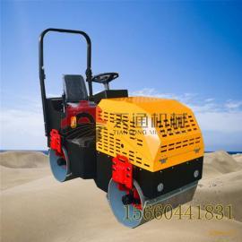 鄂州小型压路机厂家 压实沥青平整度好 1.5吨座驾式小压路机