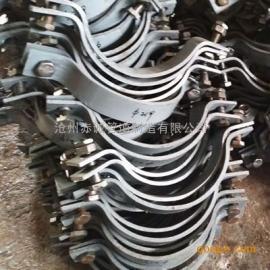 供应A6重型双螺栓管夹生产厂家价格