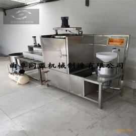 全自动节电省气豆腐机生产视频 热销推荐同益牌磨豆浆豆腐机