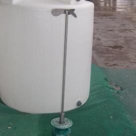 3吨PAC药剂桶,3000L PE搅拌桶加药箱