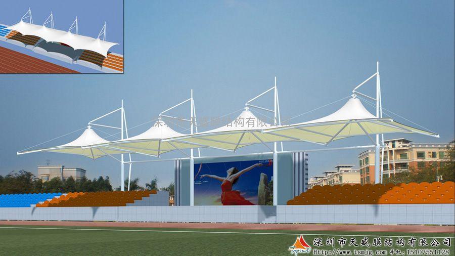 广西景观膜结构设计 广西张拉膜厂家