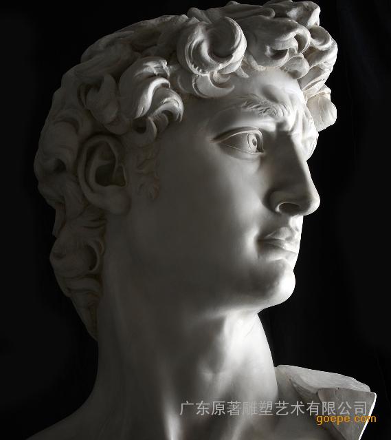 江西大卫雕塑厂家供应大卫雕像 大卫头像设计 原著制作