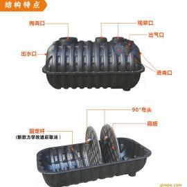 厂家直销农村旱厕改造蹲便器 坐便器 冲厕器桶 双翁式三格化粪池