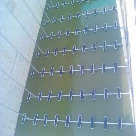 进口微孔板式曝气器,市政污水处理厂好氧池曝气系统