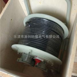 移动式防爆电缆盘BDG58-32A/380V/100M防爆放线盘