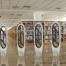 高端图书馆防盗器条码扫描枪出口智能感应门装湖北九江安徽
