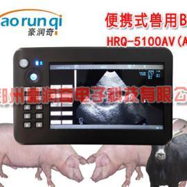 兽用B超HRQ-5000AV新款,伪彩猪用品牌B超