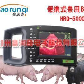 豪润奇猪用B超5000AV怎么调节增益和伪彩色