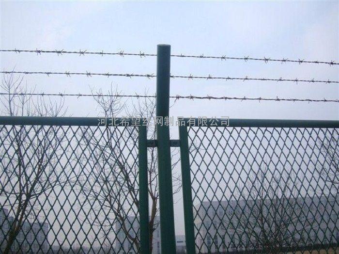菱形孔钢板网|菱形孔钢板网护栏|浸塑菱形钢板网护栏围栏