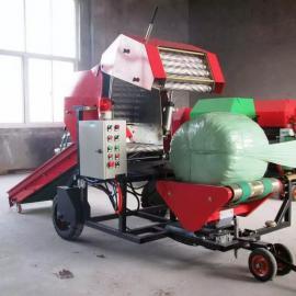 新款秸秆青贮打捆包膜机厂家全自动青贮打捆包膜机生产厂