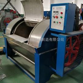 200公斤半自动工业洗衣机热销中