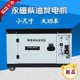 12千瓦变频永磁柴油发电机800毫米