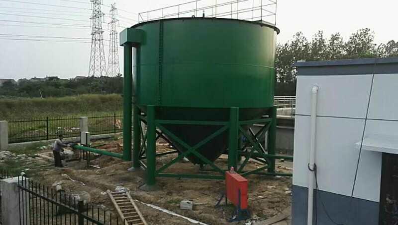pl竖流式沉淀池 厂家直销 承接工程定制 一级出水达标图片