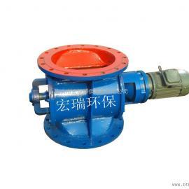 圆口星型卸灰阀 电动星型卸料器型号规格YJD-16-B,耐磨耐高压