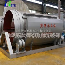 供应养鸡屠宰污水处理设备 贝特尔 转筒式格栅
