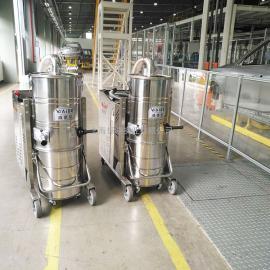 车间配套用吸铁屑钢渣100L大容量大功率不锈钢工业清洁设备