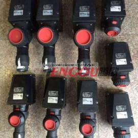 ZXF8575-32A/220V防爆防腐插座黑色工程塑料插接装置厂家