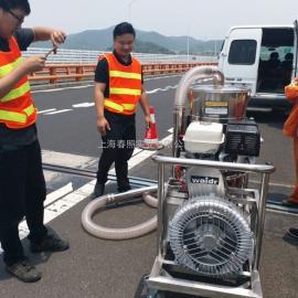 大型路面整修用吸尘器 威德尔移动式汽油机工业吸尘器燃油式吸尘