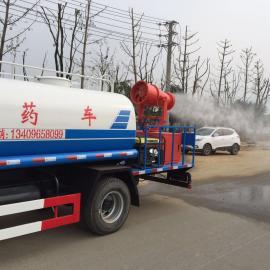 5吨东风打药车 防疫消毒车 天然气洒水车厂家