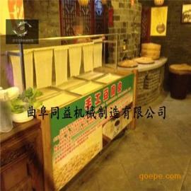 特色火锅店专用豆皮机整套机器价格 新型腐竹机多规格腐竹油皮机